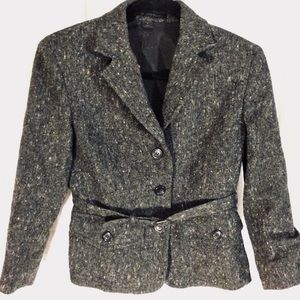 Express design studio wool blend blazer size 4
